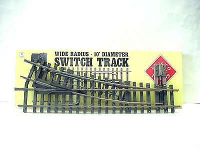 Aristo Craft G Scale Wide Radius 10' Diameter Right Switching Track #ART-30370