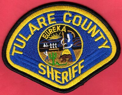 Tulare County California Sheriff Shoulder Patch