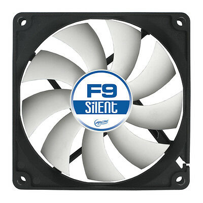 Arctic Cooling F9 Silent 92mm Case Fan 1000 RPM, 21.2 CFM Airflow