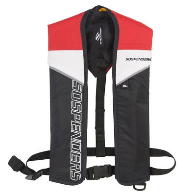 Stearns 1271 3000001180 Suspenders Manual Inflatable PFD Life Vest Jacket