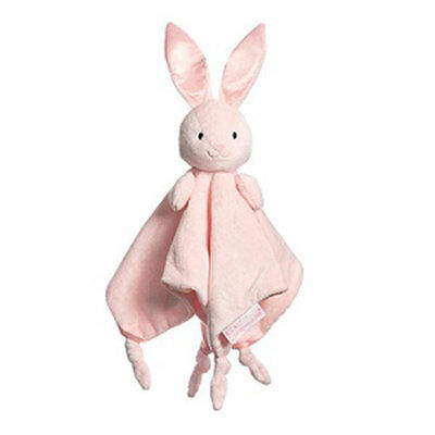 "Bizzie Bunny PINK Baby Comforter 12""/30cm Save our Sleep by Tizzie Hall NEW"