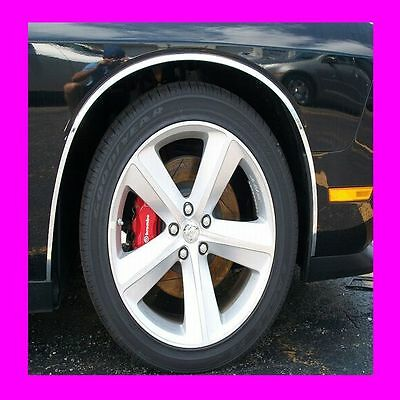 06-12 LINCOLN MKZ 4dr QAA Stainless 4pcs Wheel Well Accent WQ46632