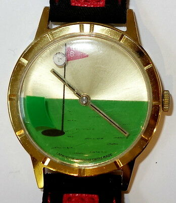 Armbanduhr,Golf,Vintage,1960/70,Schweiz,Lafayette Watch Co.