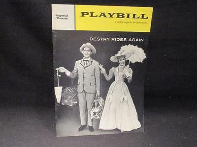 Andy Griffith & Dolores Gray Destry Rides Again Imperial Theatre 1959 Playbill