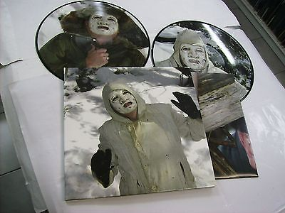 """Death In June - The Snow Bunker Tapes - 2X10"""" Picture Disc Vinyl Brand New 2013"""