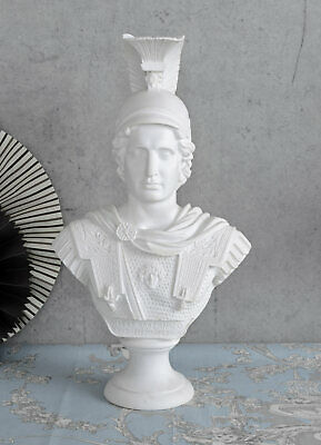 Alexander The Great Bust Classical Antique Decorative