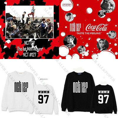 Kpop NCT #127 LIMITLESS Sweater NCT 127 Unisex MARK Hoodie DoYoung YUTA Pullover
