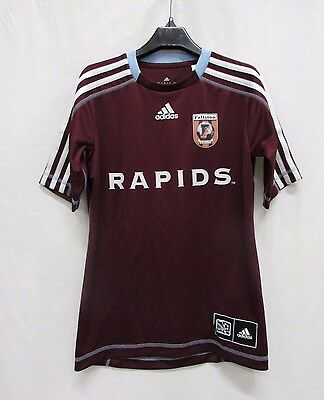 Colorado Rapids Youth Reserve Jersey Burgundy Adidas Climalite MLS RM
