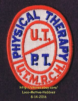 LMH PATCH Badge  UTMRCH U.T.M.R.C.H. University Tennessee PHYSICAL THERAPY UT PT