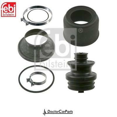 2x CV Boot Driveshaft Rubber Front//Gearbox for AUDI RS3 2.5 11-12 8P CEPA Febi