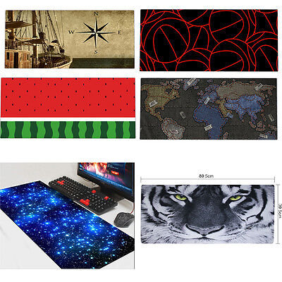 Anti-slip Large Gaming Mouse pad Keyboard Desk Mat Laptop Computer PC Mice Mat