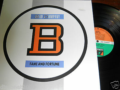 """BAD COMPANY - Fame And Fortune, LP 12"""" GERMANY 1986"""