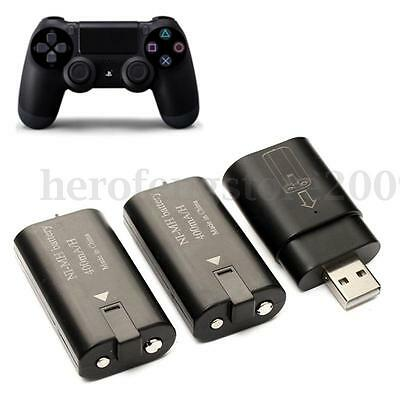 2x 400mAh Rechargeable Battery Pack + USB Charging Dock For XBOX ONE Controller