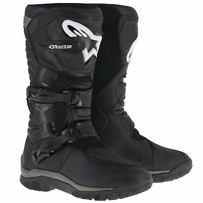 Alpinestars Corozal Adventure Waterproof Motorcycle/Bike Riding Boots In Black