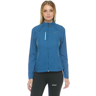 asics Womens Convertible Lightweight Training Sports Running Jacket Top - Med