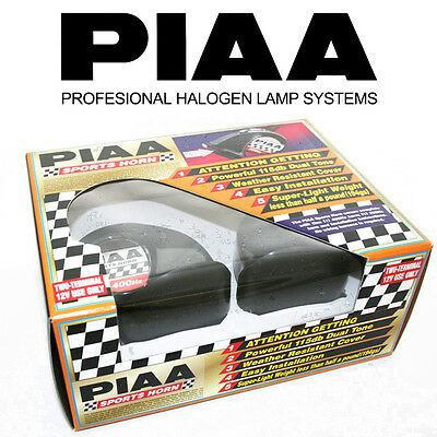 PIAA SPORTS DUAL HORN KIT 400/500Hz WEATHER RESISTANT