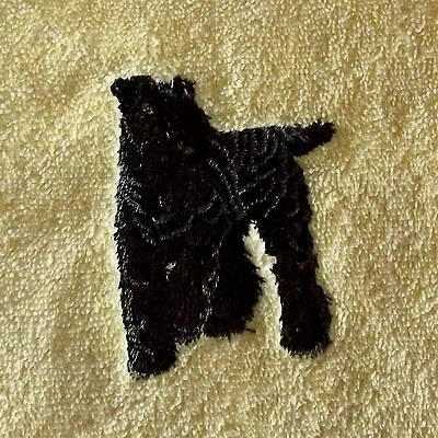 Kerry Blue Terrier  Dog Embroidered Towels, Dog Gift, Personalise, Dog Towel