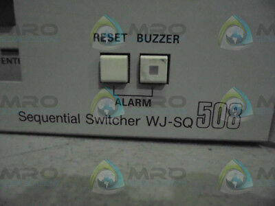 Panasonic Wj-Sq508 Sequential Switcher *used*