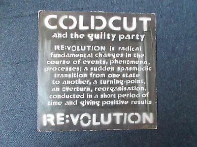 "Coldcut Re:volution 12"" Ninja Tune 2001 ZEN 1288"