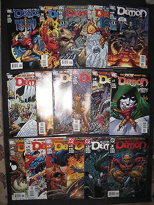 BLOOD OF The DEMON : COMPLETE 17 ISSUE DC 2005 SERIES by JOHN BYRNE. VFN-NM