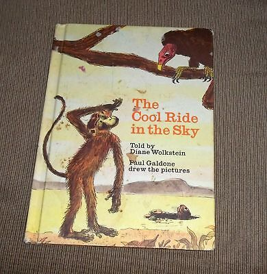 Vintage 1973 The Cool Ride In The Sky Book By Wolkstein