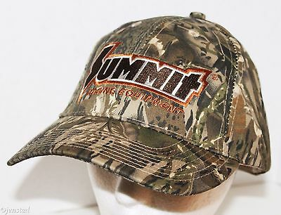 Summit Racing Equipment Embroidered Cap Hat Brown Camo Series Camouflage 1 Size