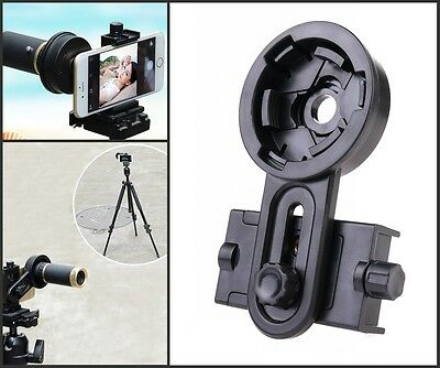 Microscope Telescope Universal Interface Bracket Holder Adapter Mount for Phone