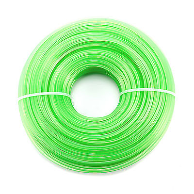 Trim Line Strimmer 100m x 2.4mm Durable Nylon Spool Refill Cord Wire Trimmer New
