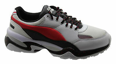3f8c5316e4c Puma Alexander McQueen MCQ Tech Runner Lo Mens Lace up Trainers 360545 01  U29