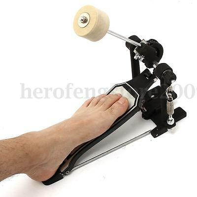 Bass Drum Single Step Kick Pedal Spring Stomp Box For Adult Rhythm Jazz Musical