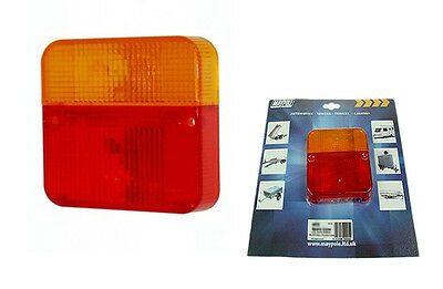 Spare Replacement Rear Light Lamp Lens Cover Towing Trailer Board For Mp003