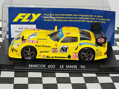 Fly Marcos 600  A21  Yellow   #781  1:32 New Old Stock