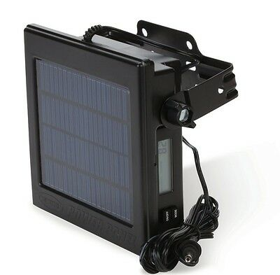 New 2015 Moultrie Camera Solar Power Panel w/ Built In 12 Volt Battery MFH-CPP