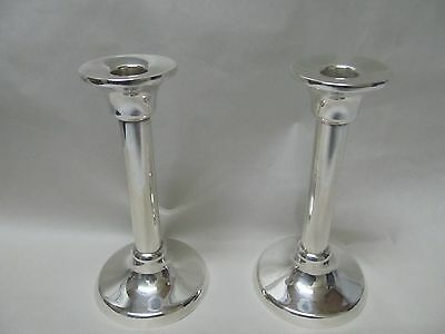 Tiffany Sterling Candlesticks Germany Excellent Condition No Monograms