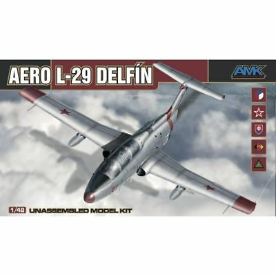 Amk 88002 Aero L-29 Delfin Model Kit 1/48