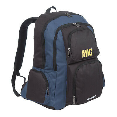 Mens & Boys Multi Pocket Backpack & Rucksack Bag HIKING SCHOOL SPORTS - NAVY 218