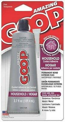 Goop 130012 Fresh 3.7Oz Household Amazing Glue Adhesive Clear Sealant 6888036