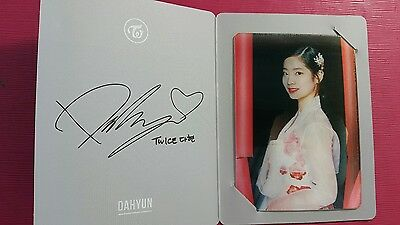 TWICE DAHYUN Official Lenticular PHOTOCARD 2nd Album PAGE TWO Photo Card 다현