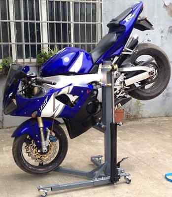 SkyMate a Motorcycle Stand and Lift in One - Motorbike Skylift
