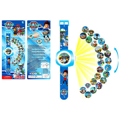 PAW PATROL Figures Projection Watch Kids Children Toy Gift TV Character Series