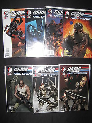 G.I.JOE, RELOADED : COMPLETE RUN #s 1,2,3,4,5,6,7 by RIEBER,BARROWS et. DDP.2004
