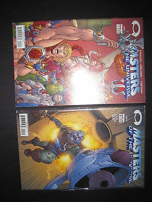 MASTERS of the UNIVERSE : #s 1 & 2 by Staples & Emiliano. HE MAN. IMAGE. 2002