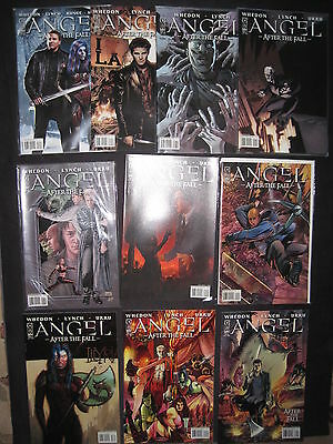 ANGEL (BUFFY) : AFTER THE FALL : COMPLETE RUN of ISSUES 1,2,3,4,5,6-10. IDW.2007