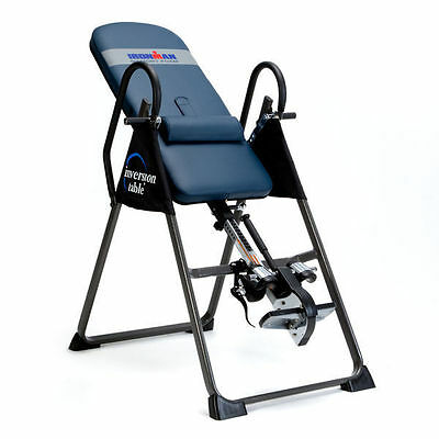 IronMan Gravity 4000 Inversion Table Relieve Stress & Back And Muscle Soreness