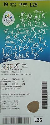TICKET A 19.8.2016 Olympia Rio Olympic Games Boxen Boxing # L25