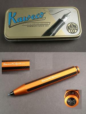 Kaweco Carbon Sport Kugelschreiber aus ALU in orange Special Edition #