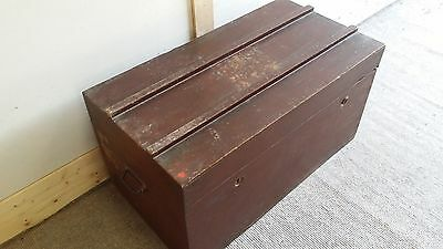 Antique French Travel Chest