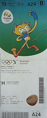 TICKET M 13.8.2016 Olympia Rio Basketball Men's Argentinien - Brasilien # A24