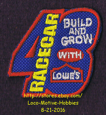 LMH PATCH Badge  RACE CAR #48 Racecar  LOWES Kids Clinic Jimmie Johnson