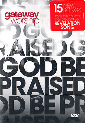 NEW Sealed Christian Music Widescreen DVD! Gateway Worship God Be Praised (LIVE)